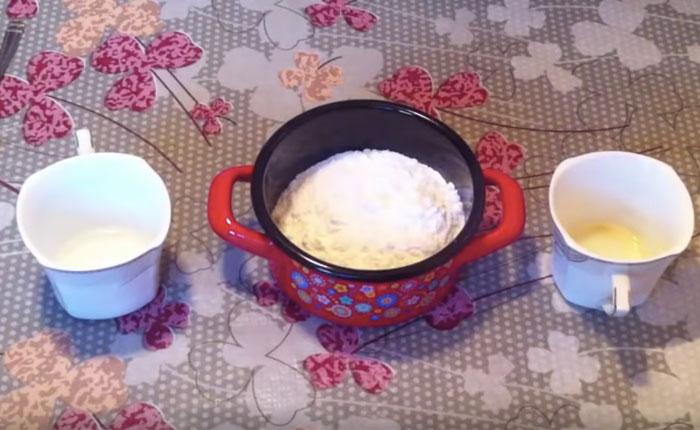 продукты для приготовления глазури без яиц