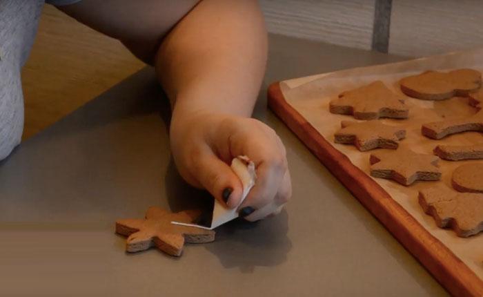 расписываем печенье глазурью
