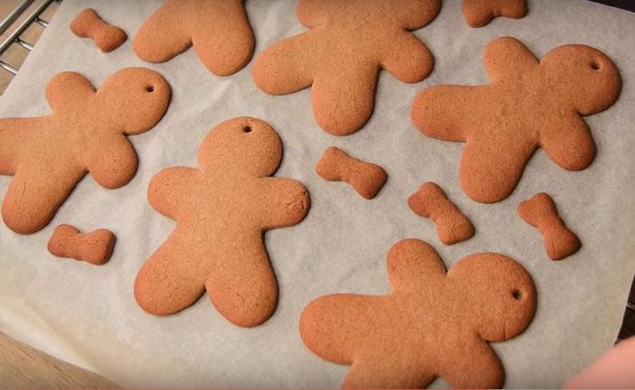 запекаем печенье в духовке