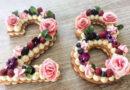 Торт Цифра — рецепты с трафаретами для коржей, идеи украшения