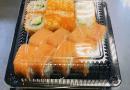 Хранение суши и ролов
